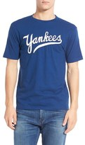 Red Jacket Men's 'New York Yankees - Twofold' Crewneck T-Shirt