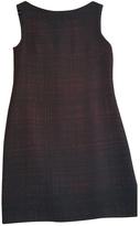 Prada Burgundy Wool Dress