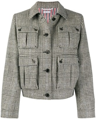 Thom Browne Prince of Wales check jacket