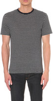 Sandro Waves linen t-shirt