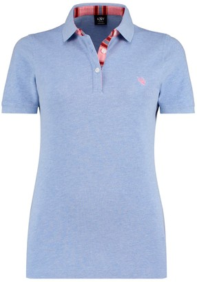 Koy Clothing Light Blue Gusii Ladies Polo Top