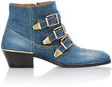 Chloé Women's Suzanna Ankle Boots-BLUE