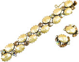 One Kings Lane Vintage Recency Faux Baroque Pearl Bracelet Set