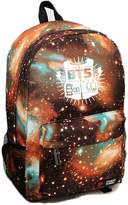 YKC Kpop BTS Bangtan Boys Sports Bags Milky Way Stars School Backpack