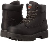 Timberland Direct Attach 6 Steel Toe (After Dark Full-Grain Leather) Men's Work Lace-up Boots