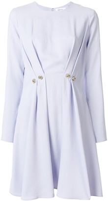 Carven pleated button dress