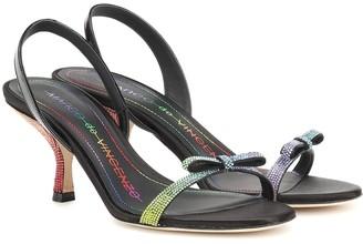 Marco De Vincenzo Embellished leather sandals