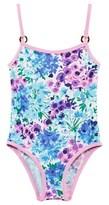 Elizabeth Hurley Flower Power Swimsuit