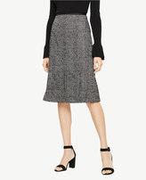 Ann Taylor Herringbone A-Line Skirt