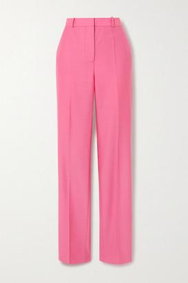 Victoria Victoria Beckham Drainpipe Wool Straight-leg Pants - Pink