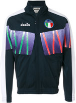 Diadora zipped sports jacket