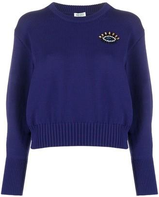 Kenzo Motif Embellishment Knitted Jumper