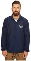 Herschel Voyage Coach Jacket (Peacoat/White Print) Coat