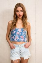 Urban Outfitters Urban Renewal Exposed Fly Denim Short