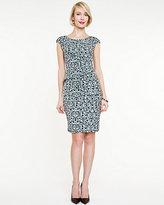 Le Château Knit Geo Print Dress