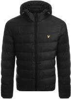 Lyle & Scott Lightweight Puffer Jacket Black