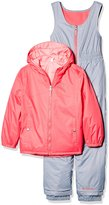 Columbia Toddler Girls' Double Flake Reversible Set