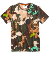 GUESS Men's Stream Floral Camo-Print T-Shirt