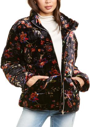 Johnny Was Taryn Silk-Blend Jacket