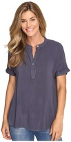Allen Allen Tab Collar Henley Shirt