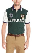 U.S. Polo Assn. Men's Color Block Polo Shirt