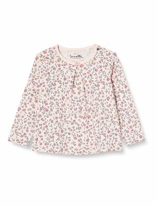Sanetta Baby Girls Light Peach Toddler T-Shirt Set