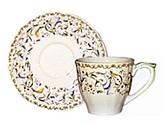 Gien Toscana Teacup & Saucer