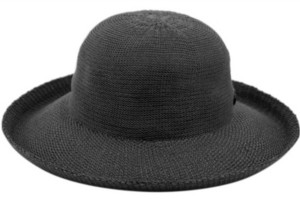 Epoch Hats Company Angela & William Wide Brim Sun Bucket Hat with Roll Up Edge