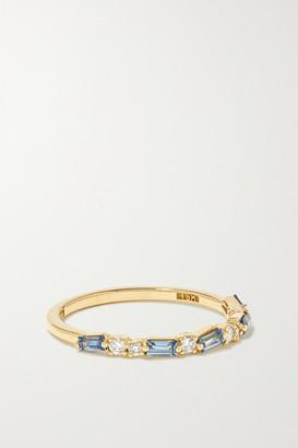 Suzanne Kalan 18-karat Gold, Sapphire And Diamond Ring - 6
