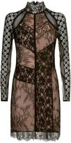 Pinko Sheer Lace Dress