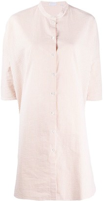 Harris Wharf London Striped-Print Shirt Dress