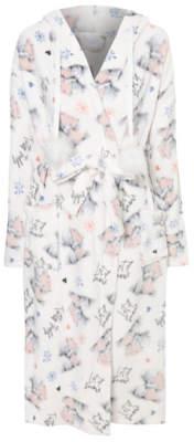 George Tatty Teddy Cream Dressing Gown