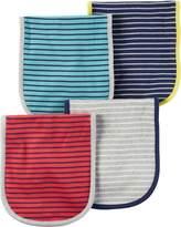 Carter's Unisex Baby 4-Pack Burp Cloths