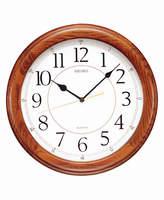 Seiko Wooden Wall Clock QXA129BLH
