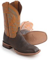 Lucchese 1883 Alan Smooth Leather Cowboy Boots - Square Toe (For Men)