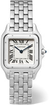 Cartier Panthère De Medium Stainless Steel Watch - Silver