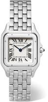 Cartier Panthère De Medium Stainless Steel Watch - Silver