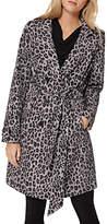 Damsel in a Dress Roaming Leopard Trench Coat, Multi
