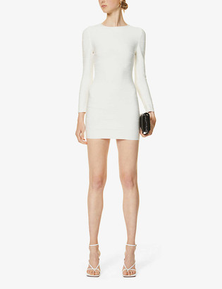 Herve Leger Bandage stretch-knit mini dress