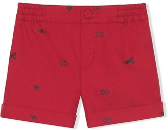 Gucci Kids Gucci Symbols shorts