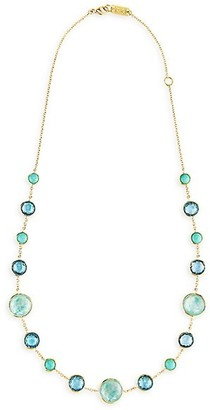 Ippolita Lollipop Lollitini 18K Yellow Gold & Mixed-Stone Short Necklace