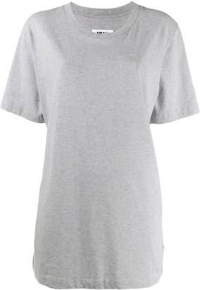 MM6 MAISON MARGIELA oversized printed back T-shirt