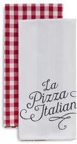 """Sur La Table Italian Pizzeria Kitchen Towels, 28"""" x 18"""", Set of 2"""