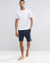 Boss By Hugo Boss Lounge Shorts In Navy Regular Fit