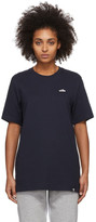 adidas Navy Embroidered Superstar T-Shirt