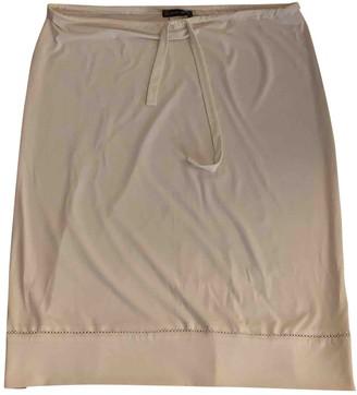 Plein Sud Jeans White Skirt for Women Vintage