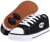 Heelys Jazzy (Toddler/Youth/Adult) (Black/White) - Footwear