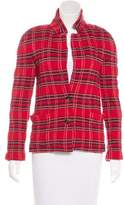 Marc by Marc Jacobs Plaid Knit Jacket