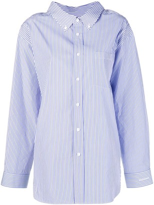 Balenciaga Swing Collar Shirt