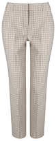 Phase Eight Alice Circle Trousers, Ivory/Stone